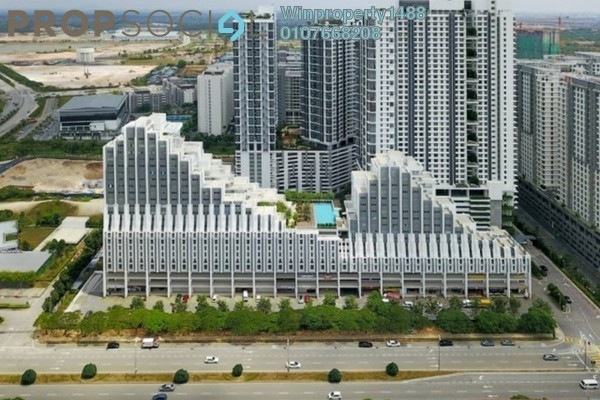 For Sale Office at Paragon Residences @ Straits View, Johor Bahru Freehold Unfurnished 0R/0B 900k