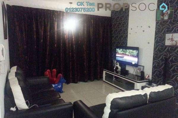For Sale Condominium at Kiara Residence 2, Bukit Jalil Freehold Semi Furnished 4R/3B 700k