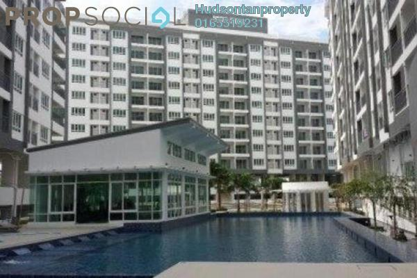 For Sale Condominium at Casa Tropika, Puchong Freehold Semi Furnished 3R/2B 440k