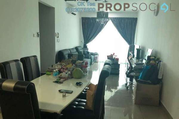 For Rent Condominium at Kiara Residence 2, Bukit Jalil Freehold Semi Furnished 3R/2B 1.8k