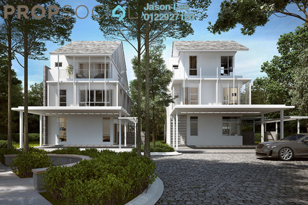 For Sale Townhouse at Senja, Seri Kembangan Freehold Semi Furnished 4R/6B 1.39m