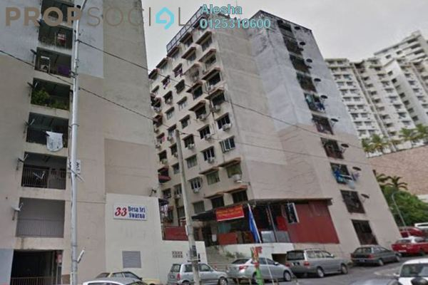 For Sale Apartment at Jalan Air Itam, Air Itam Freehold Unfurnished 0R/0B 104k
