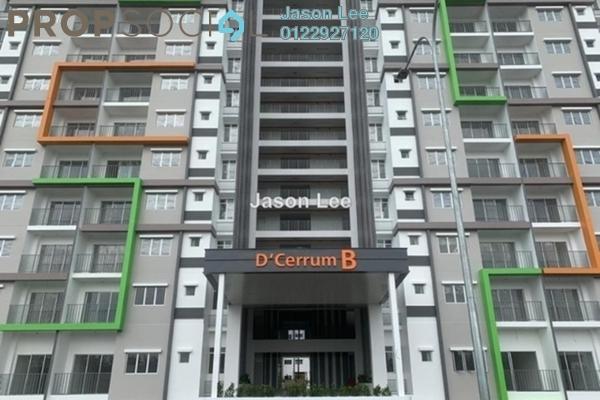 For Rent Condominium at D'Cerrum @ Setia EcoHill, Semenyih Freehold Unfurnished 3R/2B 800translationmissing:en.pricing.unit