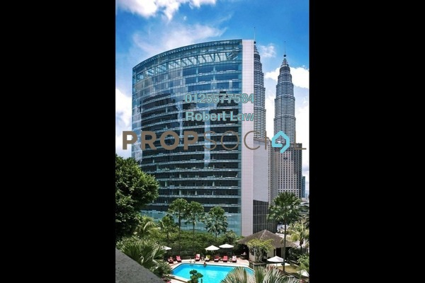 For Rent Office at Menara Perak, KLCC Freehold Fully Furnished 0R/0B 84.2k