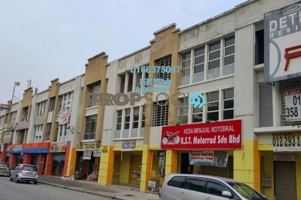 For Sale Shop at Desa Latania, Shah Alam Freehold Semi Furnished 3R/6B 1.3m
