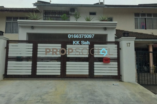 For Sale Link at Section 5, Bandar Mahkota Cheras Freehold Semi Furnished 4R/3B 599k
