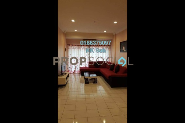 For Sale Condominium at Evergreen Park, Bandar Sungai Long Freehold Fully Furnished 3R/2B 408k