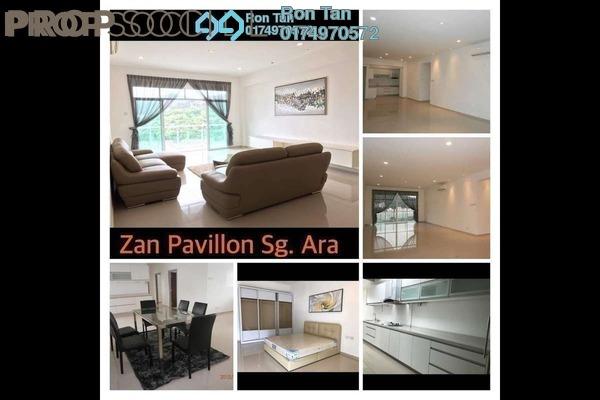 For Sale Duplex at Zan Pavillon, Sungai Ara Freehold Semi Furnished 3R/3B 960k