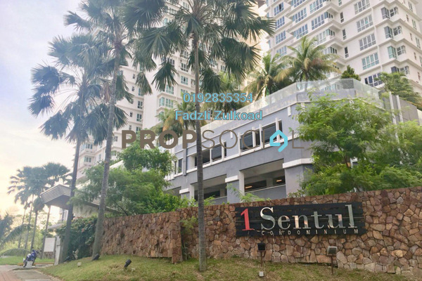For Sale Condominium at 1Sentul, Sentul Freehold Semi Furnished 3R/2B 530k