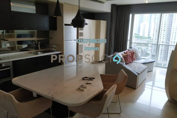 For Rent Serviced Residence at VERVE Suites, Mont Kiara Freehold Fully Furnished 2R/2B 4.6k