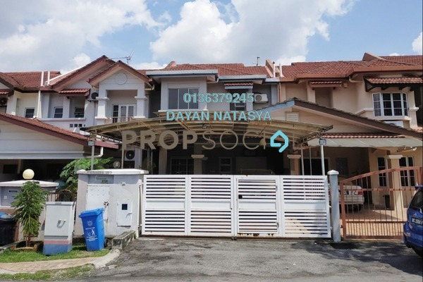 For Sale Terrace at BRP 6, Bukit Rahman Putra Freehold Semi Furnished 4R/3B 849k