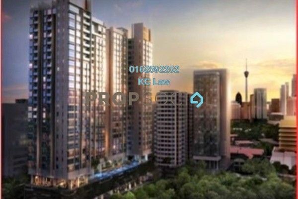 For Sale Serviced Residence at The Horizon Residences, KLCC Freehold Fully Furnished 2R/2B 1.33m