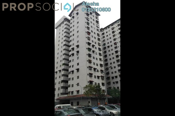 For Sale Apartment at Pangsapuri Rimba 2, Shah Alam Freehold Unfurnished 0R/0B 135k