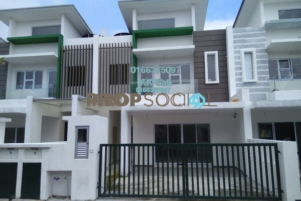 For Sale Link at The Clover Homes @ Laman Semanggi, Semenyih Freehold Unfurnished 4R/4B 528k