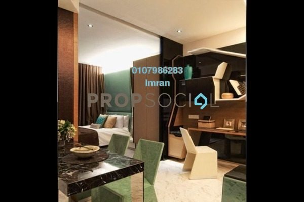 For Sale Serviced Residence at VERVE Suites, Mont Kiara Freehold Fully Furnished 1R/1B 720k