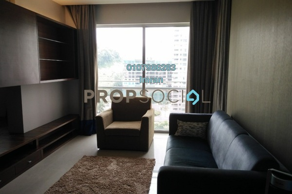 For Rent Serviced Residence at VERVE Suites, Mont Kiara Freehold Fully Furnished 1R/2B 3.2k