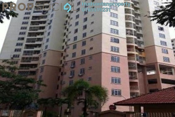 For Sale Condominium at Zamrud Apartment, Old Klang Road Freehold Semi Furnished 3R/2B 299k