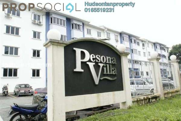 For Sale Condominium at Pesona Villa, Kemensah Freehold Semi Furnished 3R/2B 250k