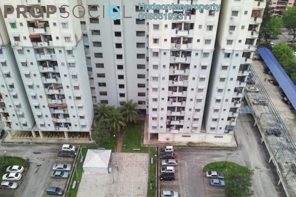 For Sale Condominium at Menara Orkid, Sentul Freehold Semi Furnished 3R/2B 260k