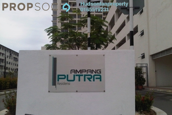 For Sale Condominium at Ampang Putra Residency, Ampang Freehold Semi Furnished 3R/2B 440k