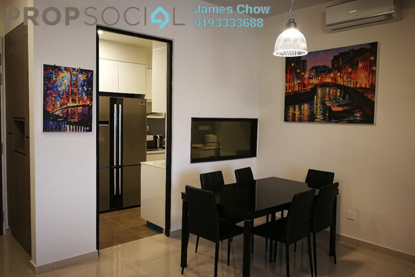 For Rent Condominium at The Rainz, Bukit Jalil Freehold Fully Furnished 4R/3B 3.6k