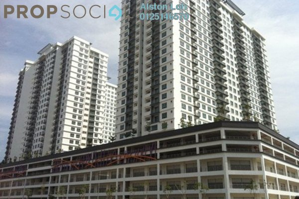 For Sale Condominium at The Golden Triangle, Relau Freehold Semi Furnished 3R/2B 490k