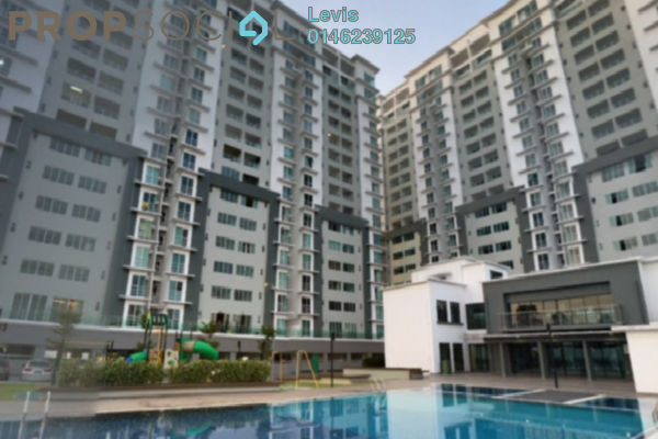 For Rent Condominium at Cheras Heights Condominium, Cheras South Freehold Semi Furnished 3R/2B 1.5k
