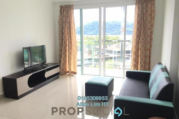 For Rent Condominium at Tropicana Bay Residences, Bayan Indah Freehold Fully Furnished 3R/2B 2.1k