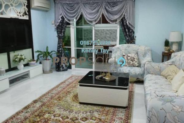For Sale Townhouse at Desa Alpha, Jalan Ipoh Freehold Semi Furnished 3R/3B 680k