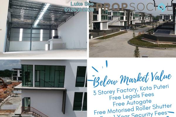 For Sale Factory at Nouvelle Industrial Park, Kota Puteri Leasehold Unfurnished 0R/0B 2.98m