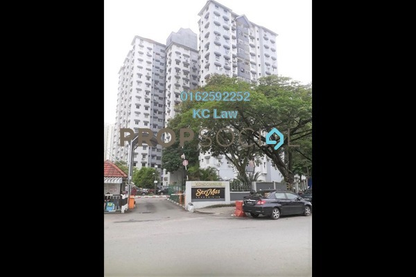 For Sale Condominium at Seri Mas, Bandar Sri Permaisuri Freehold Unfurnished 3R/2B 350k