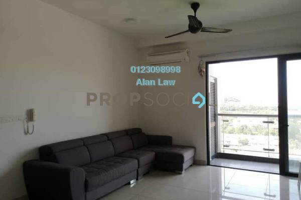 For Rent Serviced Residence at Glomac Centro, Bandar Utama Freehold Fully Furnished 3R/2B 2.5k