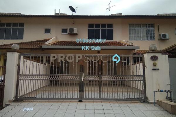 For Sale Terrace at Section 8, Bandar Mahkota Cheras Freehold Semi Furnished 4R/3B 485k