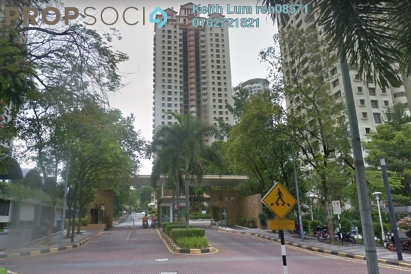 For Sale Condominium at Mont Kiara Pines, Mont Kiara Freehold Semi Furnished 3R/2B 680k