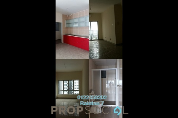 For Sale Condominium at OUG Parklane, Old Klang Road Freehold Semi Furnished 3R/2B 365k