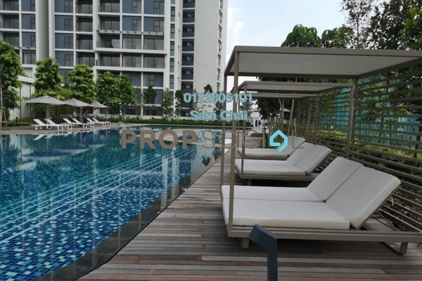 For Sale Condominium at The Westside Three, Desa ParkCity Freehold Semi Furnished 2R/2B 930k