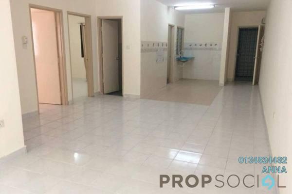For Sale Apartment at Flora Damansara, Damansara Perdana Freehold Semi Furnished 3R/2B 186k