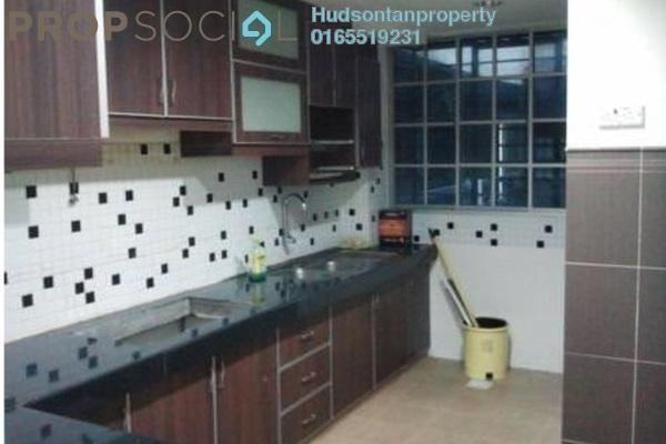 For Sale Condominium at Tasik Heights Apartment, Bandar Tasik Selatan Freehold Semi Furnished 3R/2B 270k