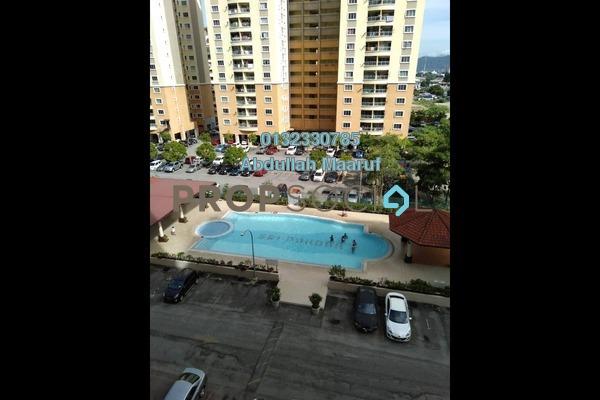 For Rent Apartment at Pandan Mewah, Pandan Indah Freehold Semi Furnished 3R/2B 1.2k