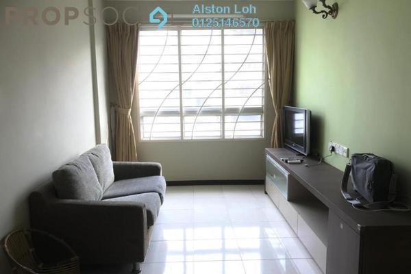 For Sale Condominium at Taman Kheng Tian, Jelutong Freehold Semi Furnished 3R/2B 365k