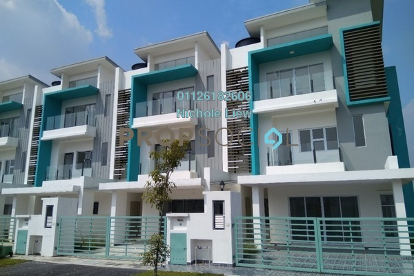 For Sale Superlink at The Clover Homes @ Laman Semanggi, Semenyih Leasehold Unfurnished 5R/4B 650k