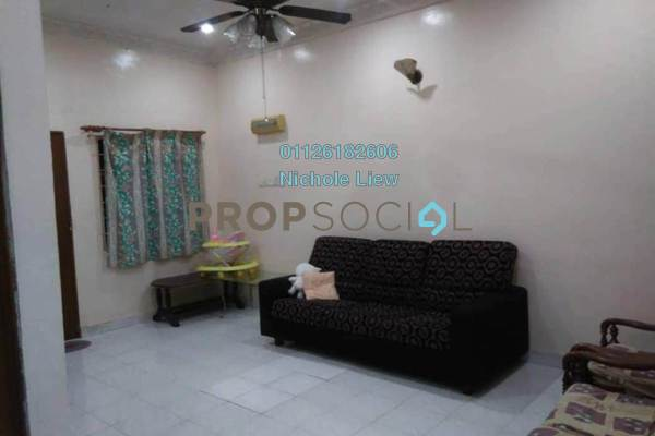 For Sale Link at Taman Teluk Pulai, Klang Freehold Semi Furnished 4R/2B 370k