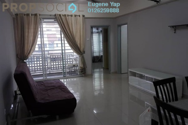 For Rent Apartment at Bukit Segambut, Segambut Freehold Semi Furnished 3R/2B 1.3k