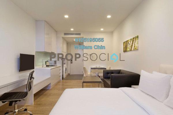 For Rent Condominium at One @ Bukit Ceylon, Bukit Ceylon Freehold Fully Furnished 0R/1B 2k