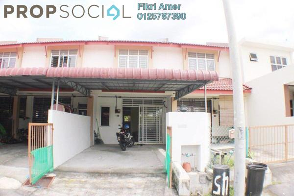 For Sale Terrace at Taman Bunga Raya, Sepang Leasehold Unfurnished 4R/2B 300k