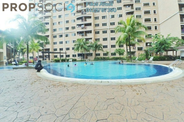 For Sale Condominium at Cengal Condominium, Bandar Sri Permaisuri Leasehold Unfurnished 3R/2B 410k