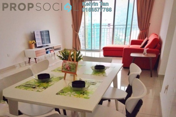 For Sale Condominium at Sierra Residences, Sungai Ara Freehold Fully Furnished 3R/2B 550k