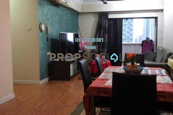 For Rent Condominium at Angkasa Impian 2, Bukit Ceylon Freehold Fully Furnished 2R/2B 3k