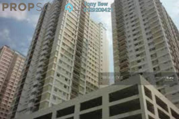 For Rent Condominium at Plaza Medan Putra, Bandar Menjalara Freehold Semi Furnished 3R/2B 1.2k
