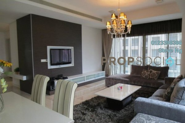 For Rent Condominium at Pavilion Residences, Bukit Bintang Freehold Fully Furnished 1R/1B 4.2k